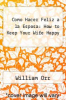 cover of Como Hacer Feliz a la Esposa: How to Keep Your Wife Happy