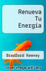 cover of Renueva Tu Energia