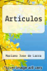 cover of Articulos