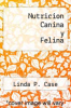 cover of Nutricion Canina y Felina (2nd edition)