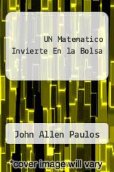 Cover of UN Matematico Invierte En la Bolsa EDITIONDESC (ISBN 978-8483109700)