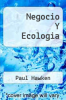 cover of Negocio Y Ecologia