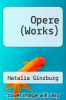 cover of Opere (Works)