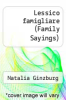 cover of Lessico famigliare (Family Sayings)