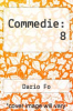 cover of Commedie: 8
