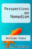 cover of Perspectives on Nomadism