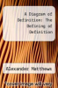 cover of A Diagram of Definition: The Defining of Definition