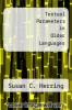 cover of Textual Parameters in Older Languages
