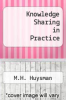 cover of Knowledge Sharing in Practice (1st edition)