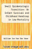 cover of Small Epidemiologic Transition: On Infant Survival and Childhood Handicap in Low-Mortality Countries