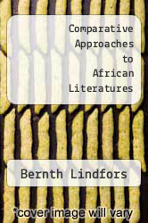 Cover of Comparative Approaches to African Literatures EDITIONDESC (ISBN 978-9051836165)