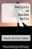 cover of Analysis of Random Walks (1st edition)