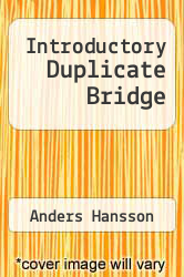 Cover of Introductory Duplicate Bridge  (ISBN 978-9174631746)