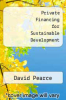 cover of Private Financing for Sustainable Development