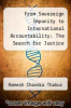 cover of From Sovereign Impunity to International Accountability: The Search for Justice in a World of States
