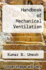 cover of Handbook of Mechanical Ventilation
