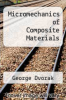 cover of Micromechanics of Composite Materials