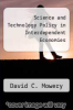 cover of Science and Technology Policy in Interdependent Economies