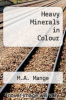 cover of Heavy Minerals in Colour