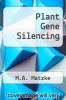 cover of Plant Gene Silencing (1st edition)