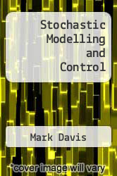 Cover of Stochastic Modelling and Control EDITIONDESC (ISBN 978-9401086400)