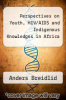 cover of Perspectives on Youth, HIV/AIDS and Indigenous Knowledges in Africa