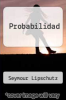 cover of Probabilidad