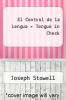 cover of El Control de la Lengua = Tongue in Check