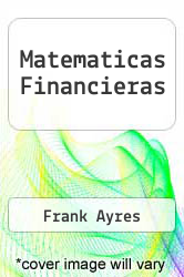 Cover of Matematicas Financieras EDITIONDESC (ISBN 978-9684221604)