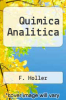 cover of Quimica Analitica