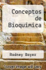 cover of Conceptos de Bioquimica