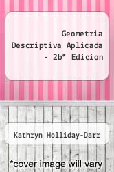 Cover of Geometria Descriptiva Aplicada - 2b Edicion EDITIONDESC (ISBN 978-9706860125)