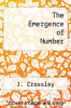 cover of The Emergence of Number