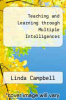 cover of Teaching and Learning through Multiple Intelligences