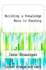 cover of Building a Knowledge Base in Reading